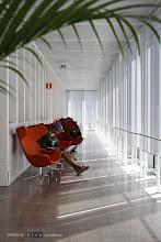 Photo: A perfect spot for reading. Göteborgs nya stadsbibliotek/Gothenburg's New City Library.