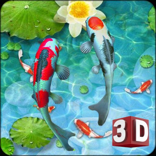 Fish 3D Live Wallpaper: Home & Lock Screen Savers