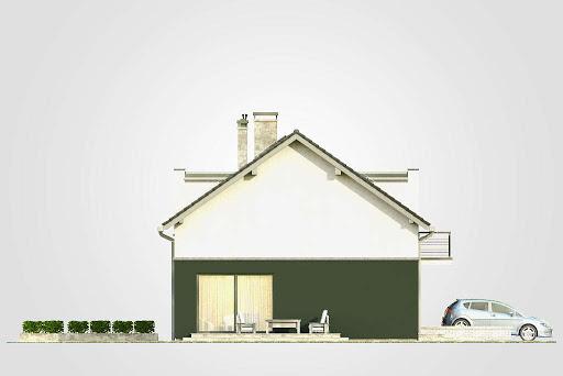 Double House II - Elewacja lewa