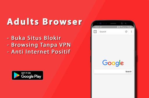 Adults Browser Anti Blokir 1.1.0 screenshots 1