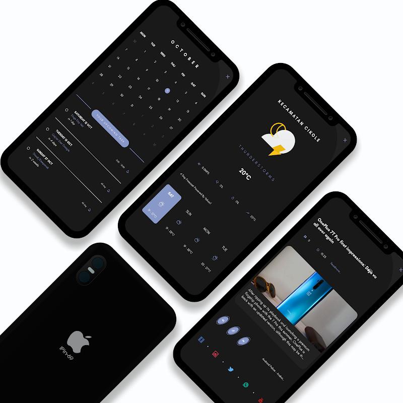 CatalystUI For KLWP Screenshot 2