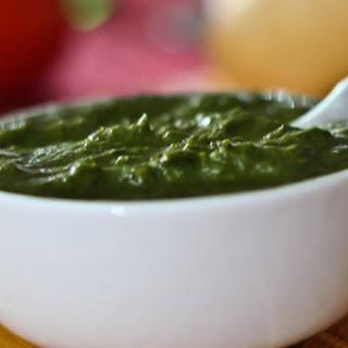 Dhaniya Pudina Chutney Recipe (Green Chutney)