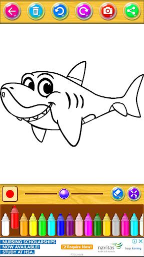 Mewarnai Buku Baby Shark 2.0.1 screenshots 2
