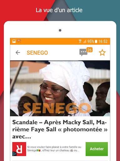 Senego: News in Senegal  screenshots 7