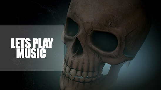 Skull Mp3 Music Player Apk 4
