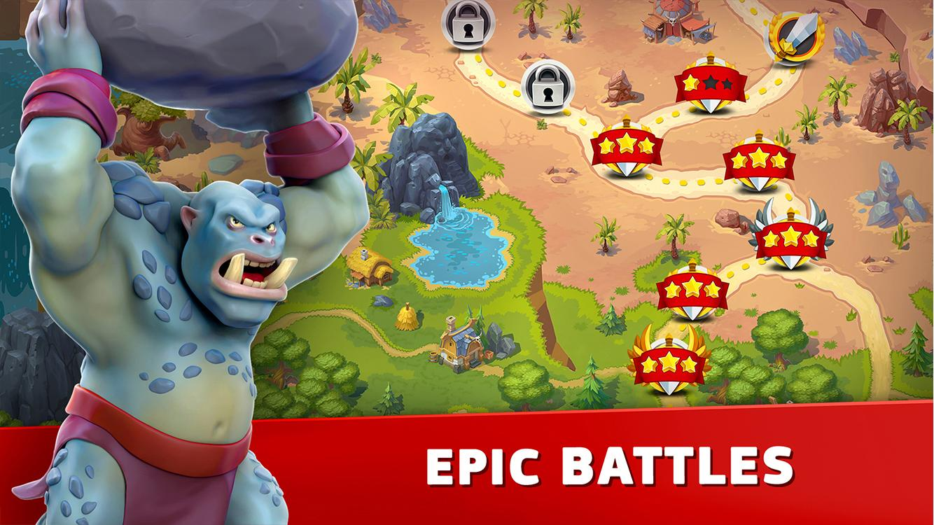 Toy Defense Fantasy - TD Strategy Game- screenshot
