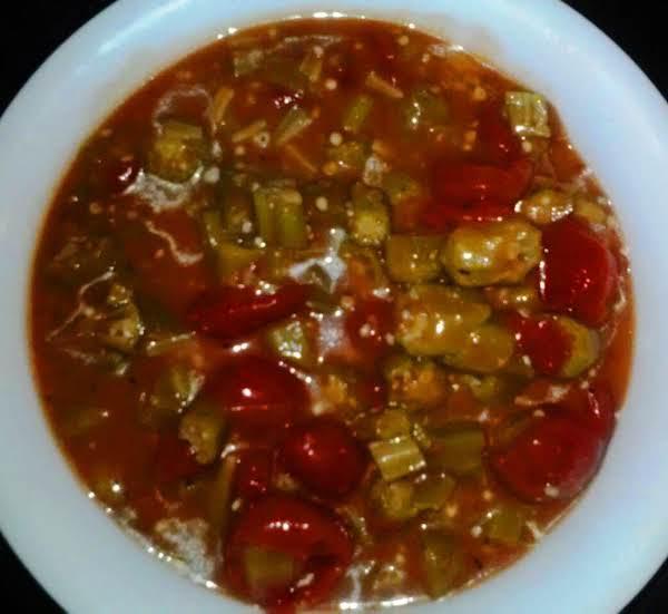 Cajun Gumbo'd Okra Recipe