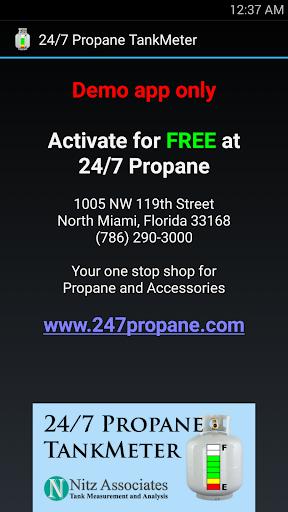 24 7 Propane TankMeter Demo