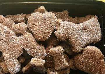 Rice & Peanut Butter Dog Treats