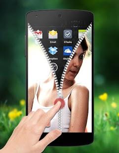 My Photo Zipper Lock Screen screenshot