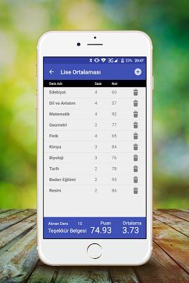 Ortalama Hesapla - screenshot