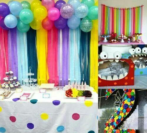 Ballon decoration ideas android apps on google play for Baby shower stage decoration