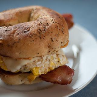 Everything Bagel Egg Sandwich.