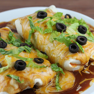 Chicken Wet Burritos