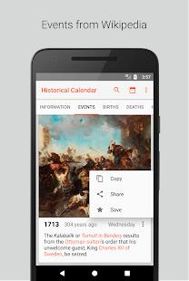Historický Kalendář - náhled