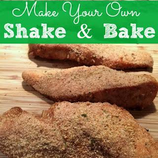 DIY Chicken Shake and Bake.