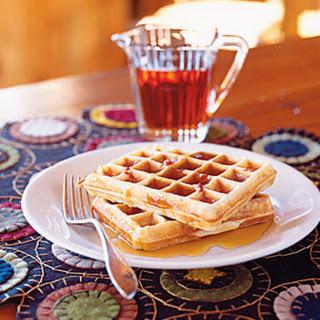 Bacon Maple Waffles.