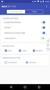 Back Button 2.3.4 Mod Android Updated 1