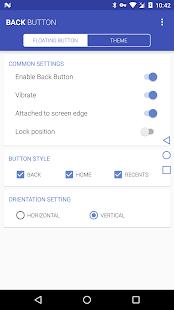 Back Button - náhled