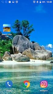 Beach Video Live Wallpaper 3D - náhled