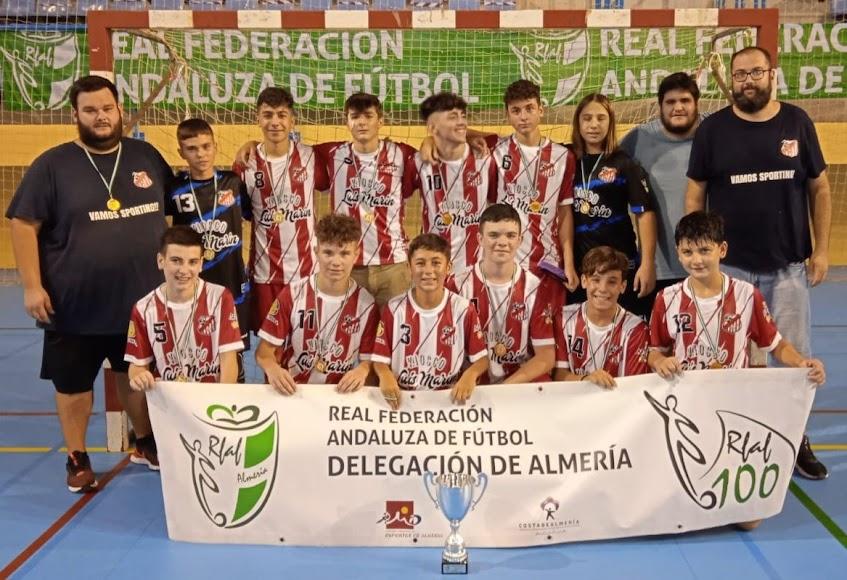 Sporting Almería es el campeón en cadete.