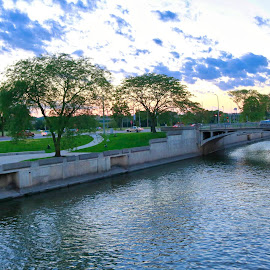 bridge lake by Rs Photography - Buildings & Architecture Bridges & Suspended Structures