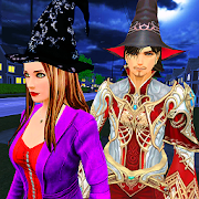 Halloween Witch and Wizard Adventure
