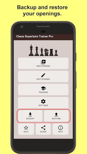 Chess Repertoire Trainer 2.5.0-demo screenshots 1