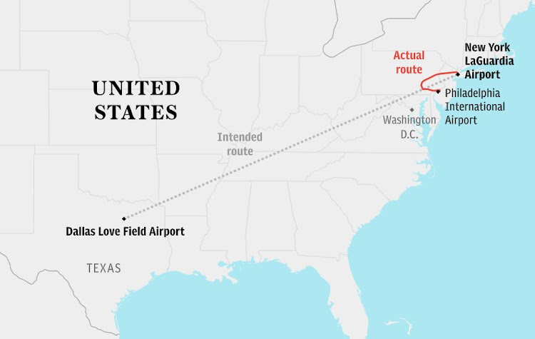 Southwest Airlines Flight 1380 was bound for Dallas from New York.