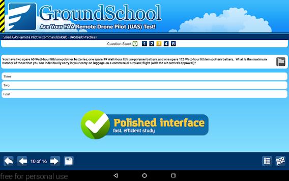 download drone pilot (uas) test prep apk latest version app for