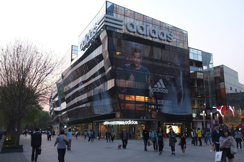 Being fashion shopping in Sanlitun