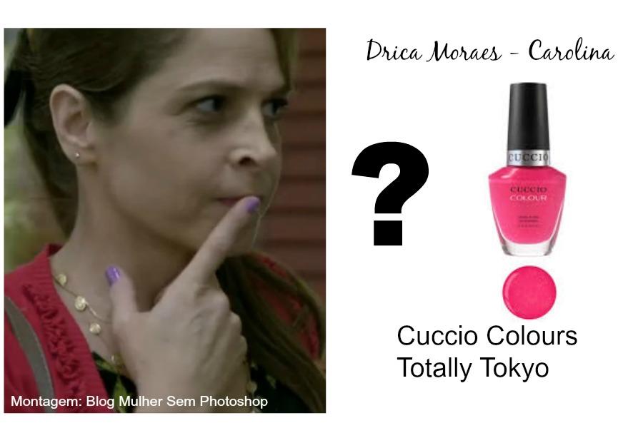 Cuccio: esmalte das atrizes de Verdades Secretas
