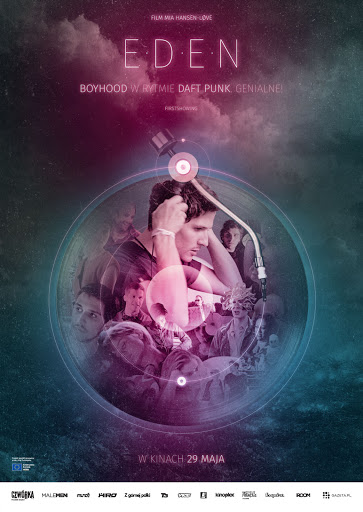 Polski plakat filmu 'Eden'
