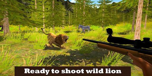 Lion Hunting Season 2018: Shooting Jungle Animals 1.2 screenshots 1