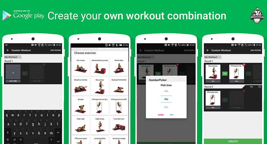 #5. Home workout MMA Spartan Pro (Android)
