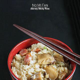 No Mi Fan - Savory Sticky Rice.