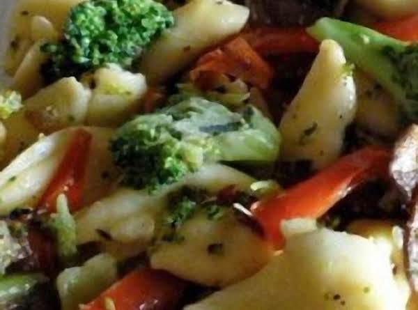 Pasta Broccoli Cheese Bake