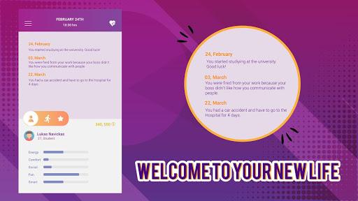 Télécharger Gratuit OneLife - Real Life Simulator APK MOD (Astuce) screenshots 1