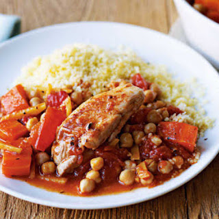 Moroccan-style Chicken.