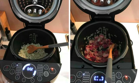 This versatile multicooker can be used to prepare a wide range of food. Source: Kid Spot