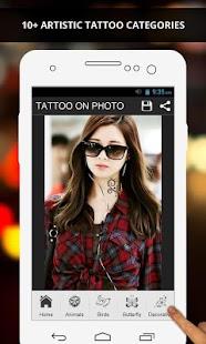 Tải Game Tattoo On Photo