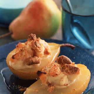 Baked Mascarpone Pears.
