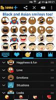 Screenshot of Emojidom: Chat Smileys & Emoji