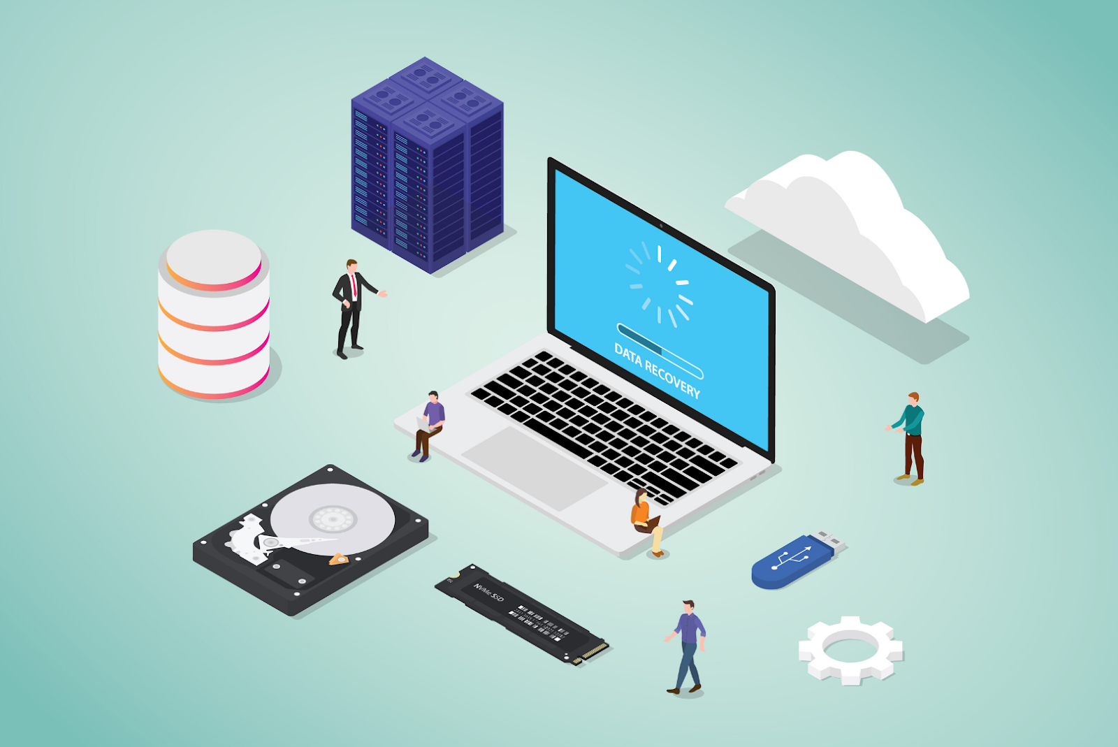 IT Services Provider - Data backup and recovery