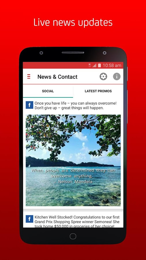 My Digicel- screenshot