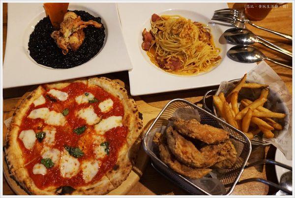 Bite 2 eat。薄多義義式手工披薩。 台中|南屯區 公益店