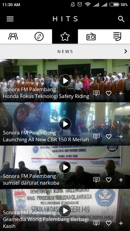 Sonora Palembang- screenshot