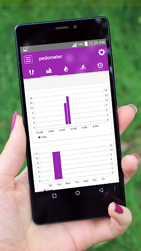 Steps Counter-Fitness & Calorie Counter Pedometer 1.4 screenshots 3