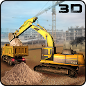 Construction Site Simulator 3D icon