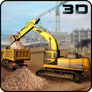 Construction Site Simulator 3D for PC and MAC